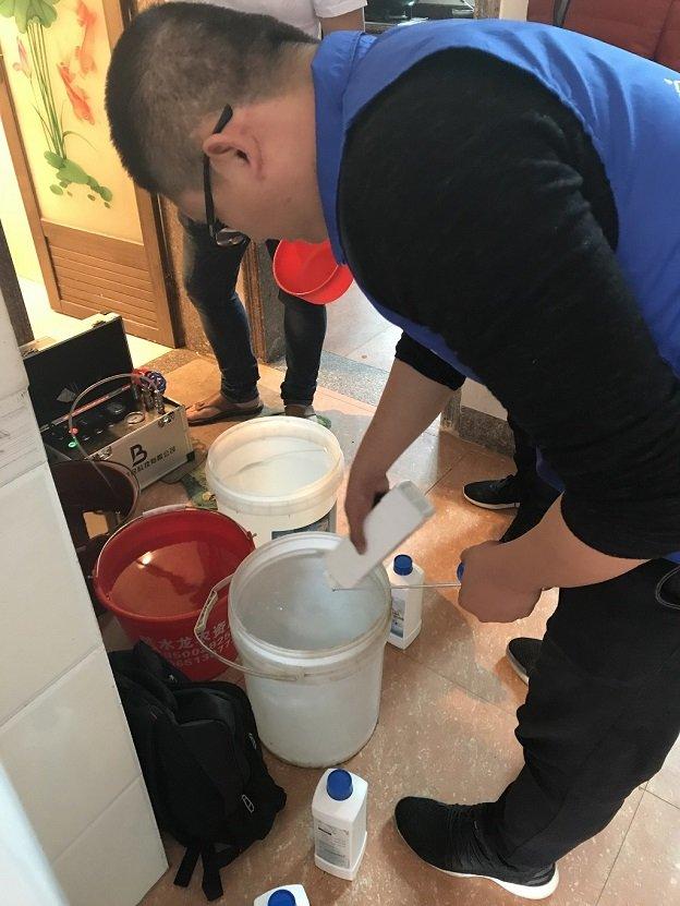清洗水管内壁机器一台多少钱