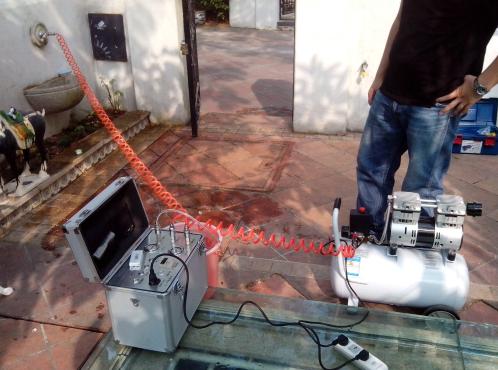 管之净水管清洗设备怎么用,操作流程